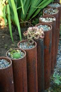 garden edging 5 ways to edge your landscape with recycled