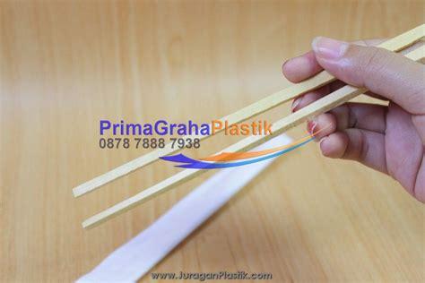 Sumpit Kayu Bungkus Plastik sumpit bambu bungkus kertas hygienis plain paper