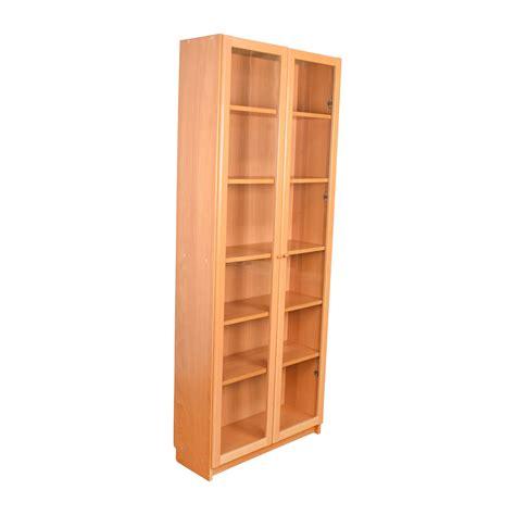 ikea ikea glass shelving unit storage