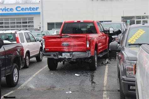 Waldorf Ford by Waldorf Ford Employee Rams Truck Into Showroom Additional