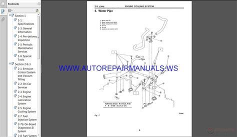 Subaru Svx C10 1996 Service Manual Auto Repair Manual