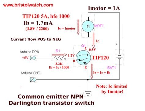 darlington transistor base voltage bi polar mosfet transistor driver upc interfacing