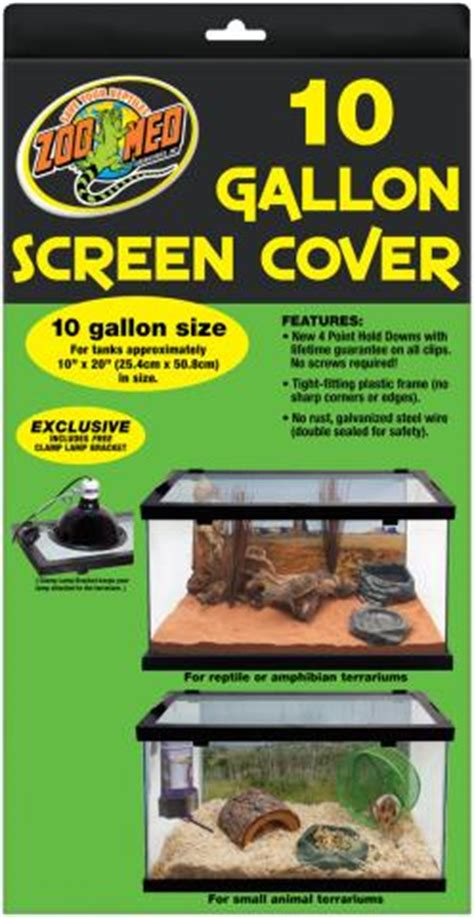 Zoo Med L by Zoo Med 10 Gallon Screen Cover