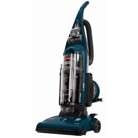how to vacuum bissell opticlean rewind bagless upright vacuum cleaner