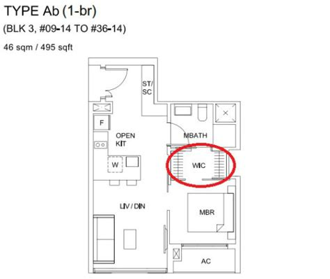 the gardens at bishan floor plan sky vue offers rare walk in wardrobe for all units