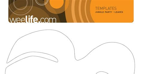 jungle leaf templates to cut out related keywords suggestions for jungle leaf template
