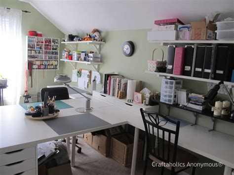 craftaholics anonymous 174 craft room tour with diana elliot