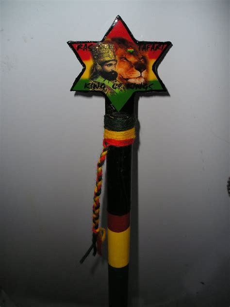 Correction Your Fear Bat rasta nyabinghi rod staff of correction highest by royalnatty