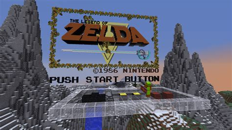 minecraft legend of zelda map youtube the legend of zelda 30 year anniversary map updates