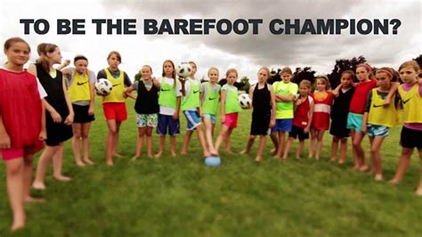 bare in sports society for barefoot living