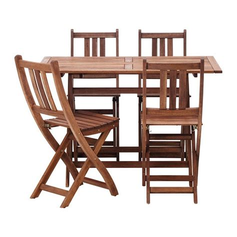Patio Table Set Ikea Ikea Bollo Table And 4 Chairs For 130 Additional Chairs