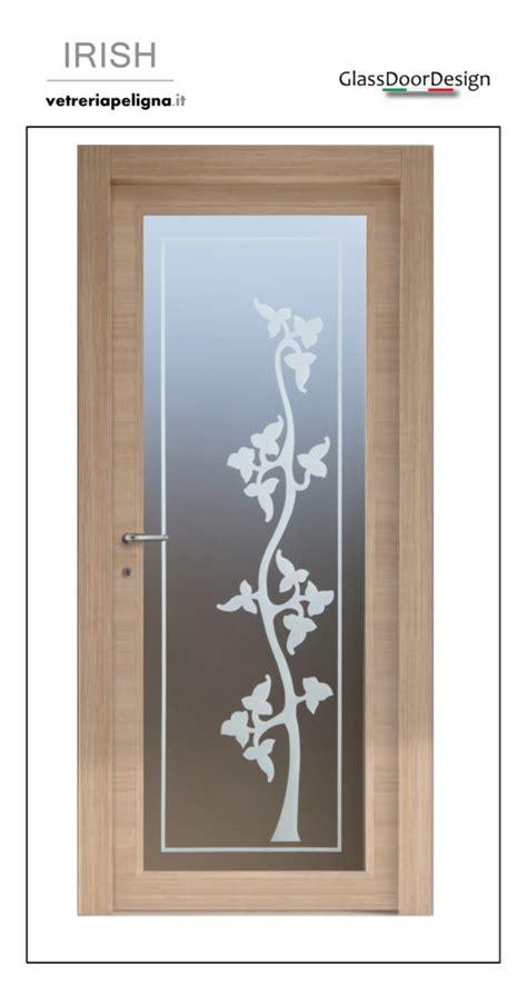 vetro per porte interne vetro con decoro su vetro per porte interne vetreria