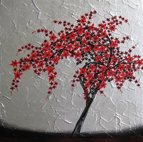red black silver gray grey wall painting paintings art