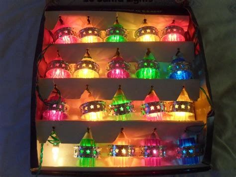 24 best images about vintage christmas lights on pinterest