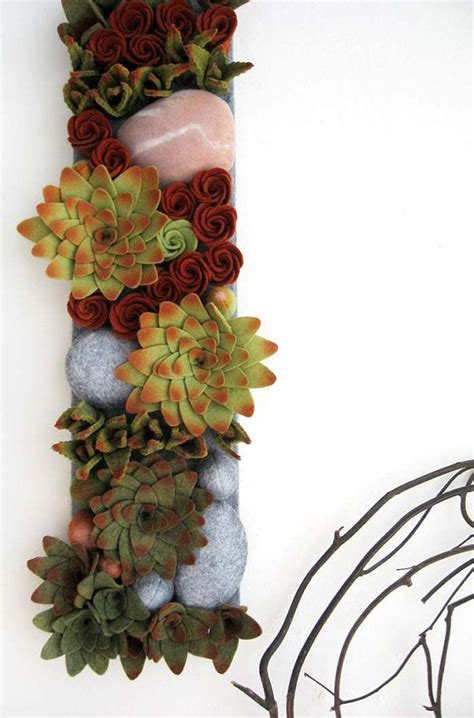 Katel Mini 9 best felt succulents images on felt succulents felt flowers and succulents