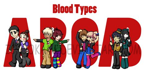 Blood Typr 3 the muses of a cub bloodtype personalities