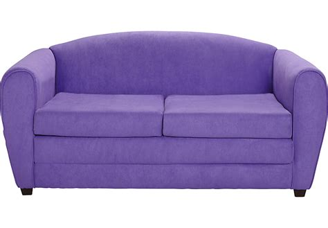 arezzo purple sleeper sofa seating