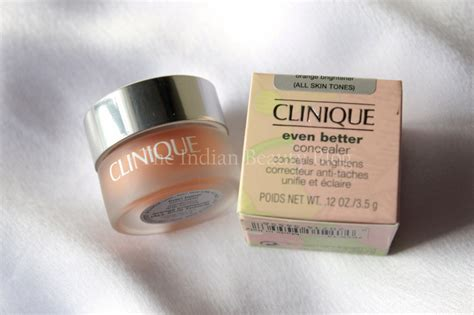 Clinique Even Better Concealer clinique even better concealer orange brightener