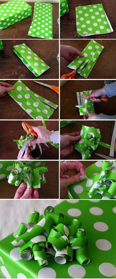 How To Make Bows Out Of Paper - top 10 diy gift projects paper bows left and make