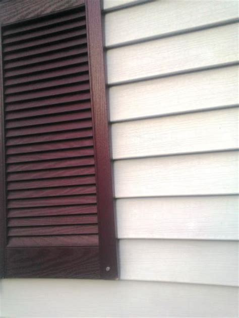 Painting Vinyl Shutters by Painting Plastic Shutters Black Doityourself