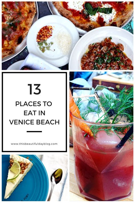 places to eat for day restaurants venice california