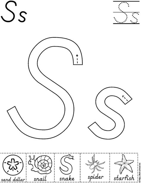 Alphabet Letter S Activity Worksheet D Nealian Preschool Printables Printables Pinterest Letter Template Activity
