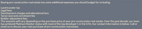 how to determine closing costs when buying a house registration 88 north condominiums toronto