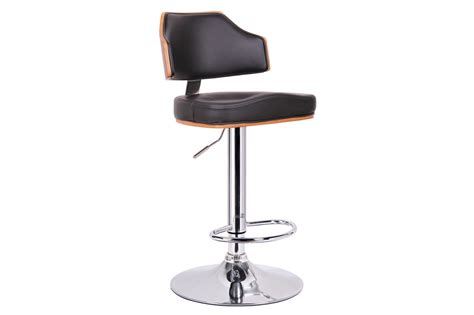 bar stools in chicago cabell walnut and black modern bar stool affordable