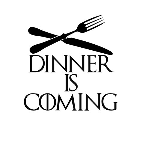 Instant Pot Decals by Game Thrones Parody Dinner Is Coming Vinyl Sticker Car Decal