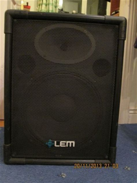 Bell Stereo Speakers lem eclipse lps 12 plus speakers with bell mx6006 stereo
