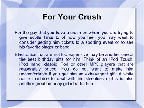 birthday gift for crush need ideas on the best birthday gifts for the in your