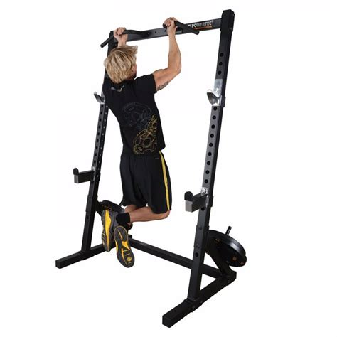 Fitness Gear Pro Half Rack Review by Powertec 2016 Workbench Half Rack Strength Equipment