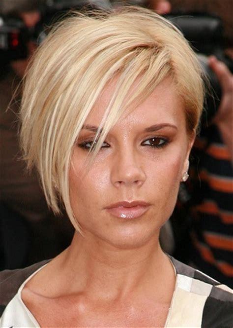 hairstyles victoria beckham short blonde hairstyle