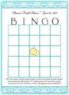 bridal shower bingo template blank 5 best images of 8x11 blank printable baby shower bingo