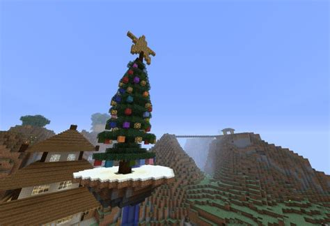 minecraft pe 2014 christmas mod and seed by tradition