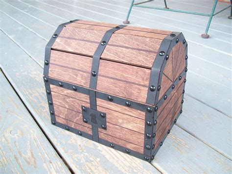 diy pirate chest legend of treasure chest with sound 7 steps with pictures