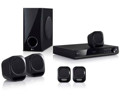 Home Theater Lg Bh4120s home theater lg hd bh4120s 5 1 canais player cabo hdmi e entrada usb ripping 330