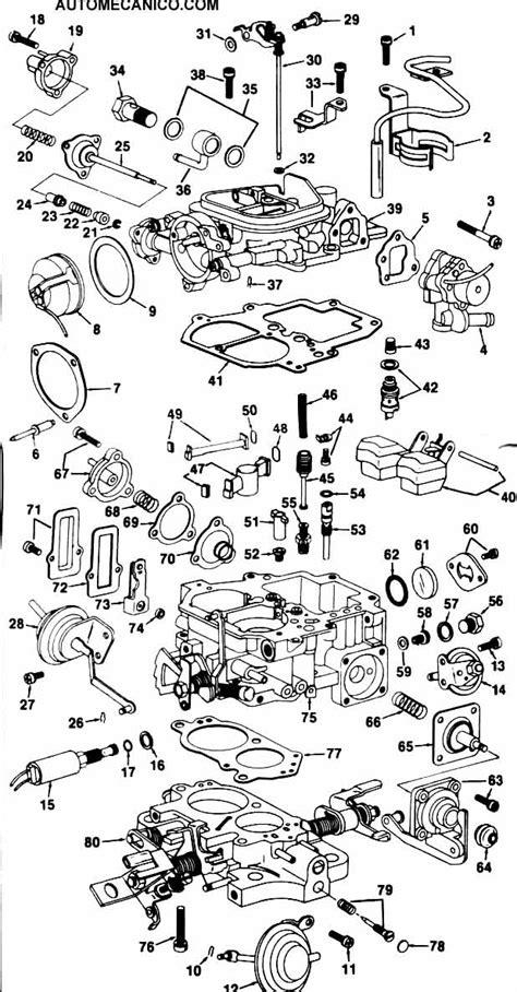 ajuste de motor despiece carburador toyota hilux carburador descripcion mecanismo de funcionamiento