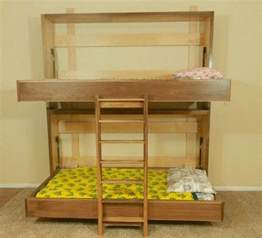 Murphy Bed Bunk Beds How To Build A Murphy Bunk Bed Diy Projects For Everyone
