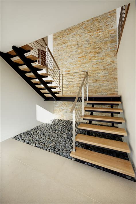 Bungalow Stairs Design Corona Mar Bungalow Contemporary Staircase Orange County By By Design