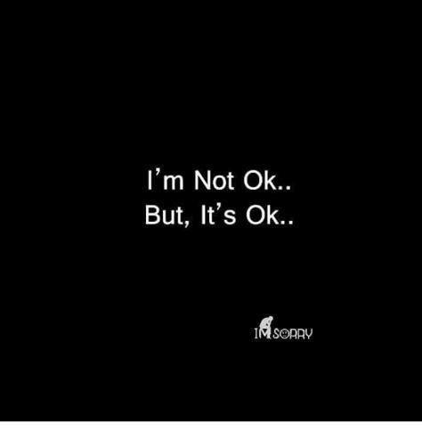 Kaos Korean Quotes Im Not Okay I M Not Ok But It S Ok Meme On Me Me