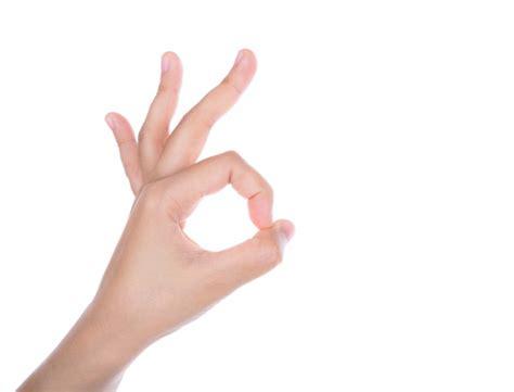 imagenes manos ok mano haciendo el gesto de quot ok quot descargar fotos gratis