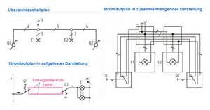 wechselschaltung mit 2 schaltern und 1 le schaltungen und schaltpl 228 ne newa elektro der gr0 223 handel