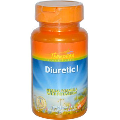 Thompson, Diuretic I, Herbal Formula with Potassium, 90 Capsules   iHerb.com