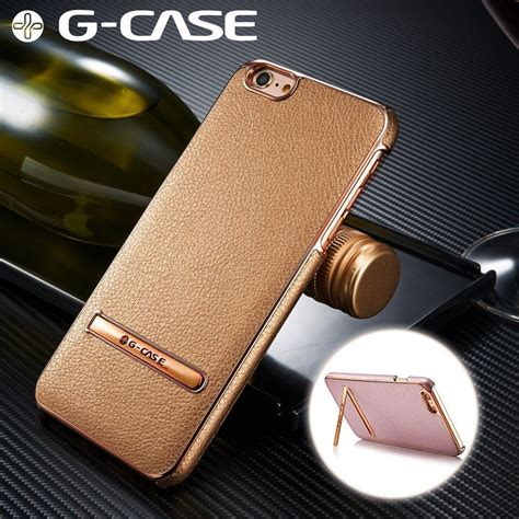 G Form Iphone 6s by G 174 Apple Iphone 6 Plus 6s Plus Ultra Thin Leather With Electroplating Inbuilt Click