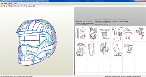 Halo Foam Templates Props And Costumes Pinterest Template Diy Stuff And Papercraft Foam Templates