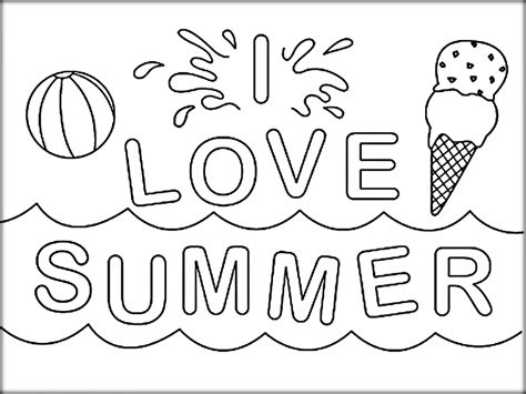 easy summer coloring pages bourseauxkamas