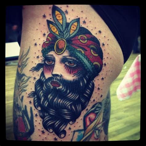 bearded lady tattoo 1000 images about traditional circus on
