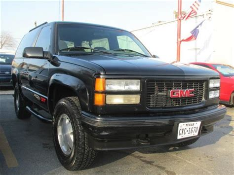 car owners manuals for sale 1995 gmc yukon head up display used 1995 gmc yukon for sale carsforsale com