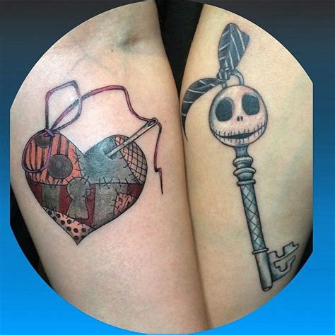 jack and sally couple tattoos 2343 best images about tattoos on